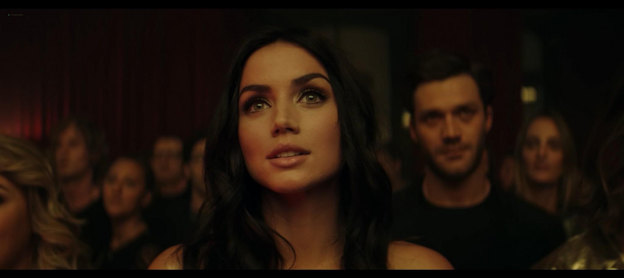Ana de Armas hot and sexy Entering Red 2019 1080p Web