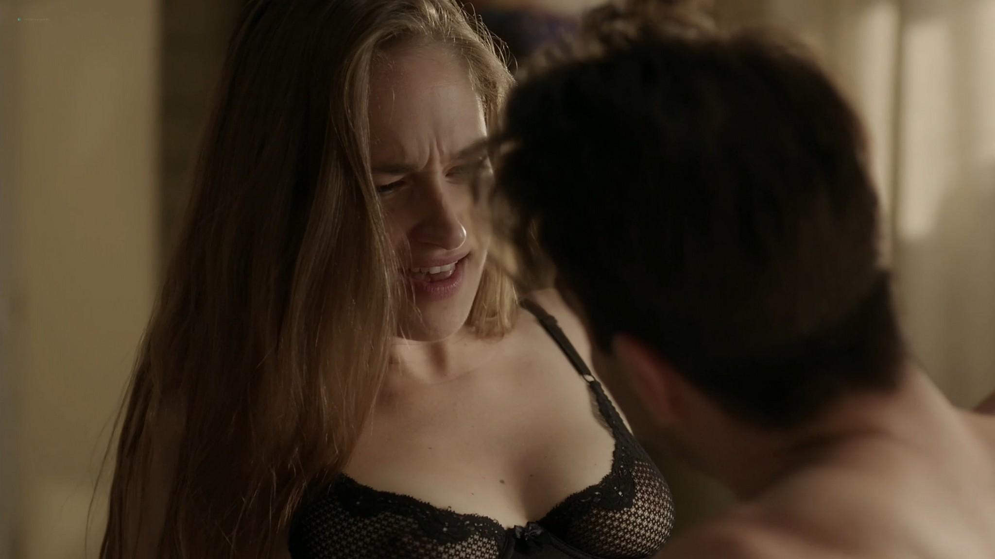 Gaby Hoffmann nude bush Allison Williams Lena Dunham hot Girls 2012 s4 1080p Web 15