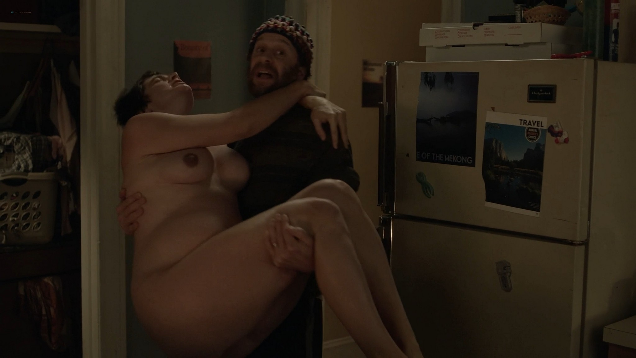 Gaby Hoffmann nude bush Allison Williams Lena Dunham hot Girls 2012 s4 1080p Web 19