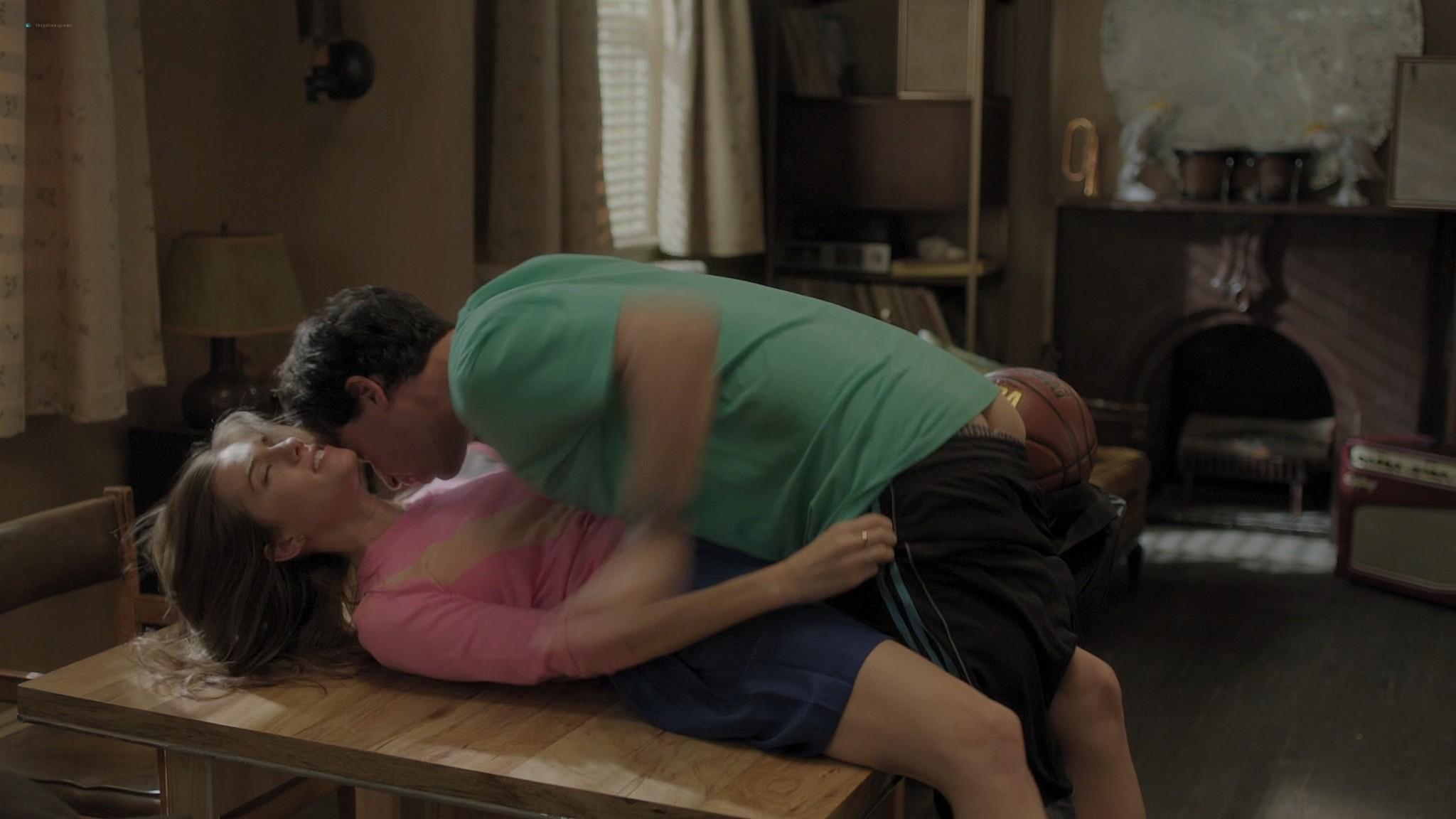 Gaby Hoffmann nude full frontal Allison Williams sex Lena Dunham nude Girls 2012 s3e1 5 1080p Web 14