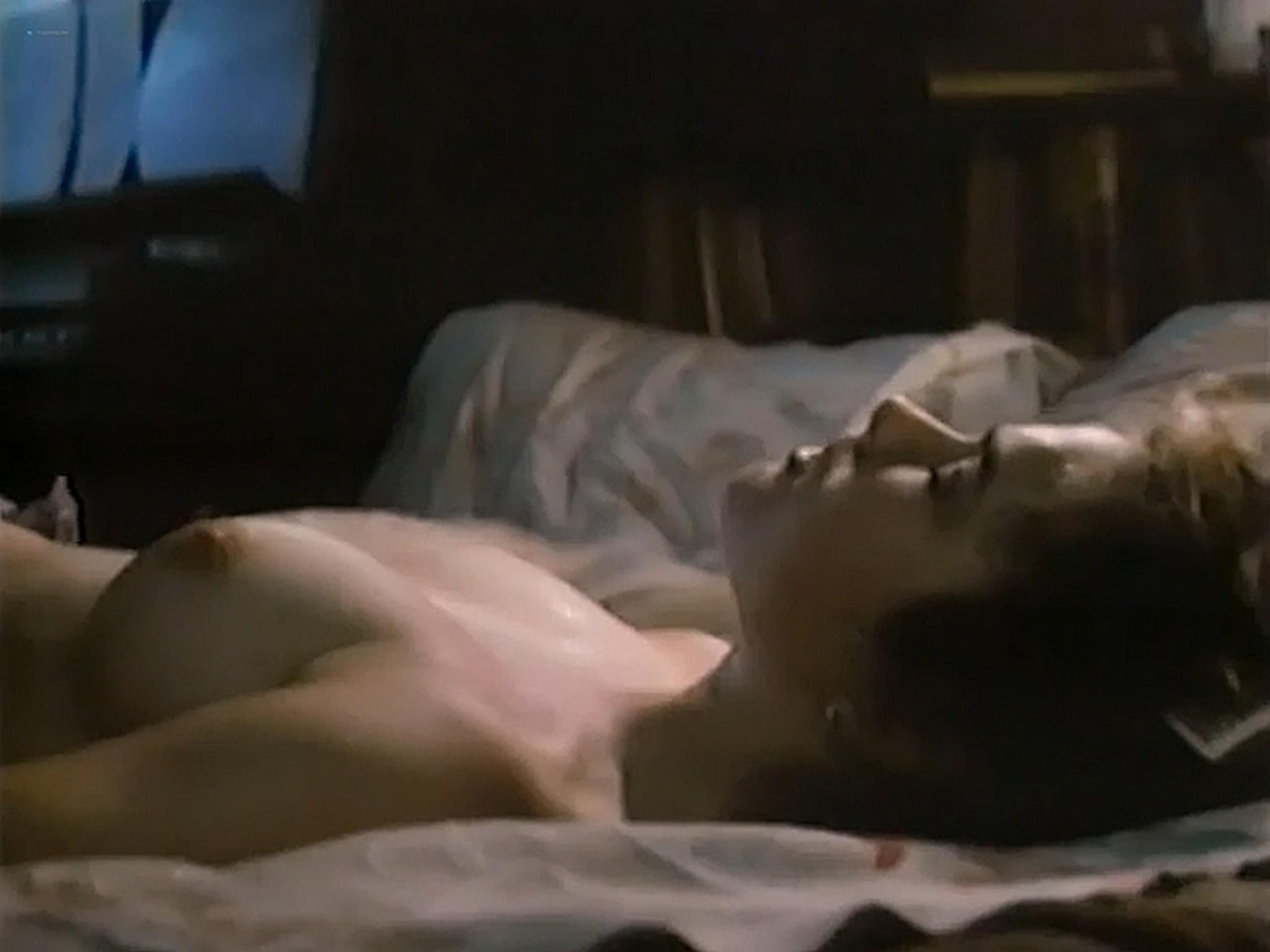 Heather Langenkamp nude topless and sex Nickel Mountain 1984 VHSRip 9