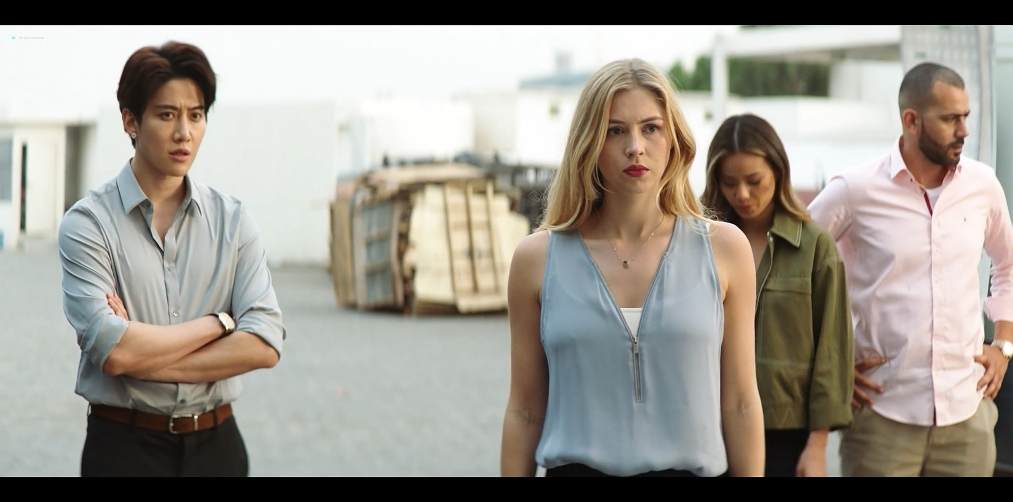 Hermione Corfield hot Jamie Chung sexy The Misfits 2021 1080p Web 8