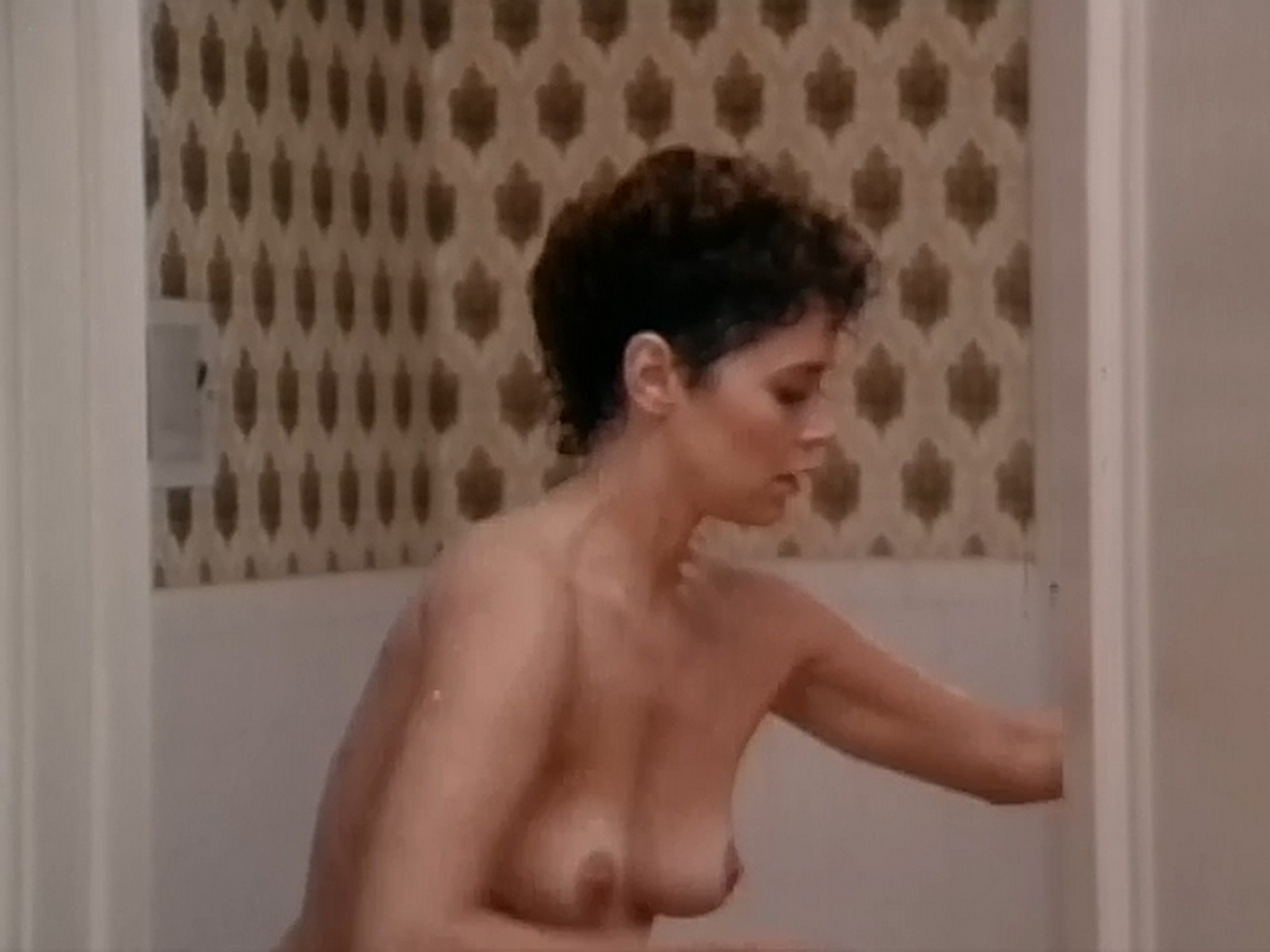 Kim Evenson nude full frontal Monique Gabrielle Sylvia Kristel all nude bush and full frontal The Big Bet 1985 DVDRip 10