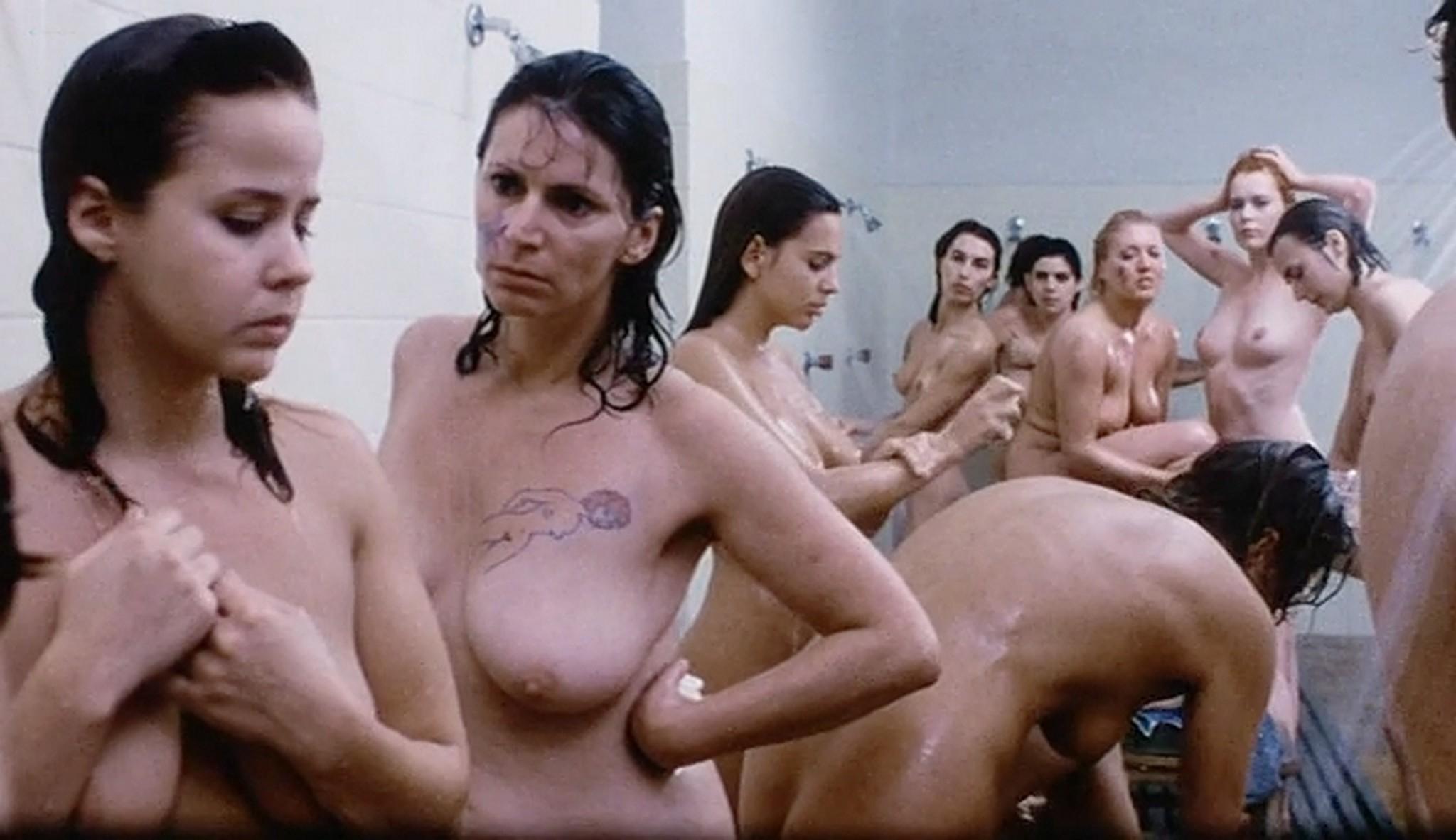 Linda Blair nude sex Sylvia Kristel and others nude too Red Heat 1985 VHSRip 12