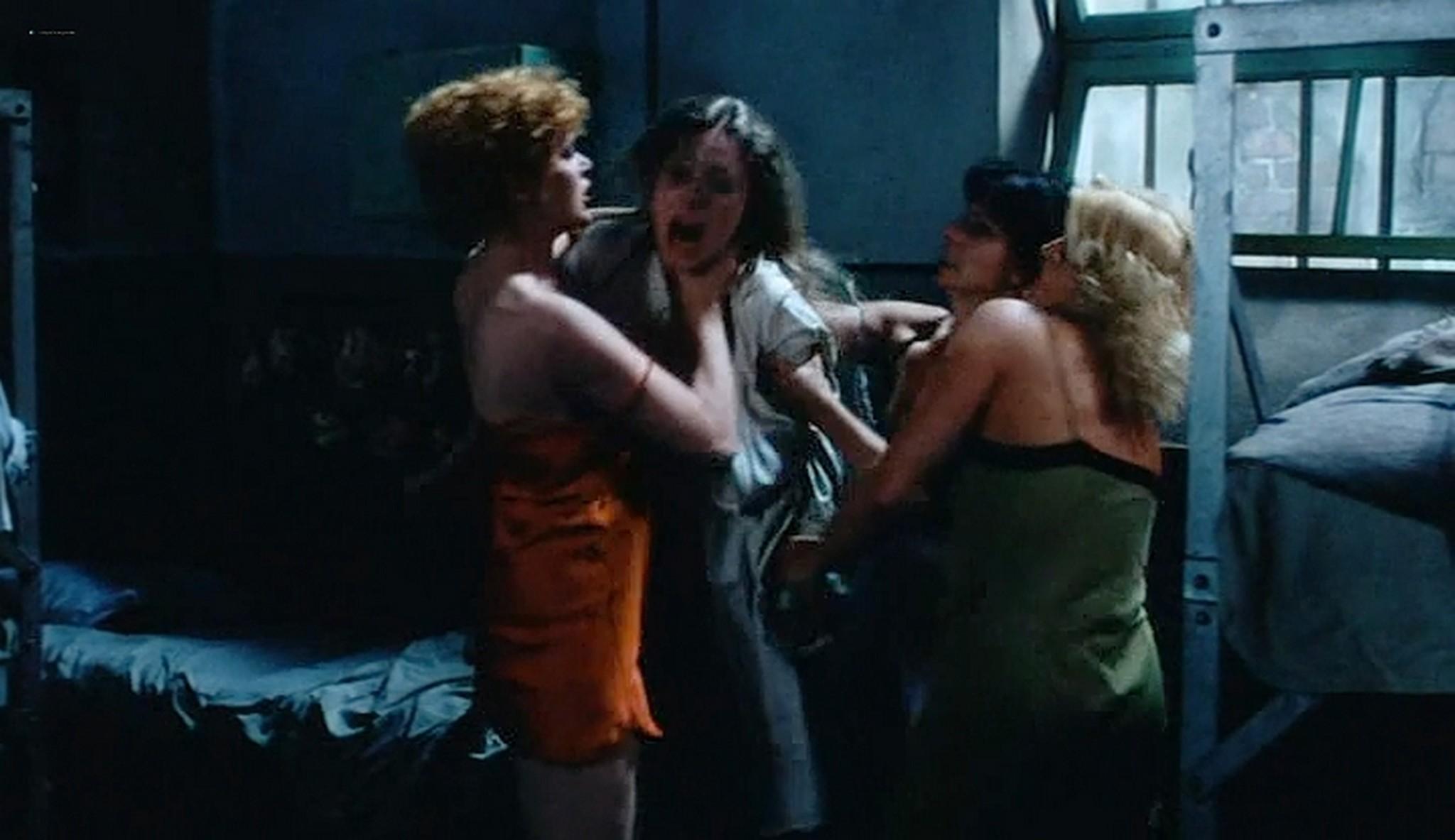 Linda Blair nude sex Sylvia Kristel and others nude too Red Heat 1985 VHSRip 6