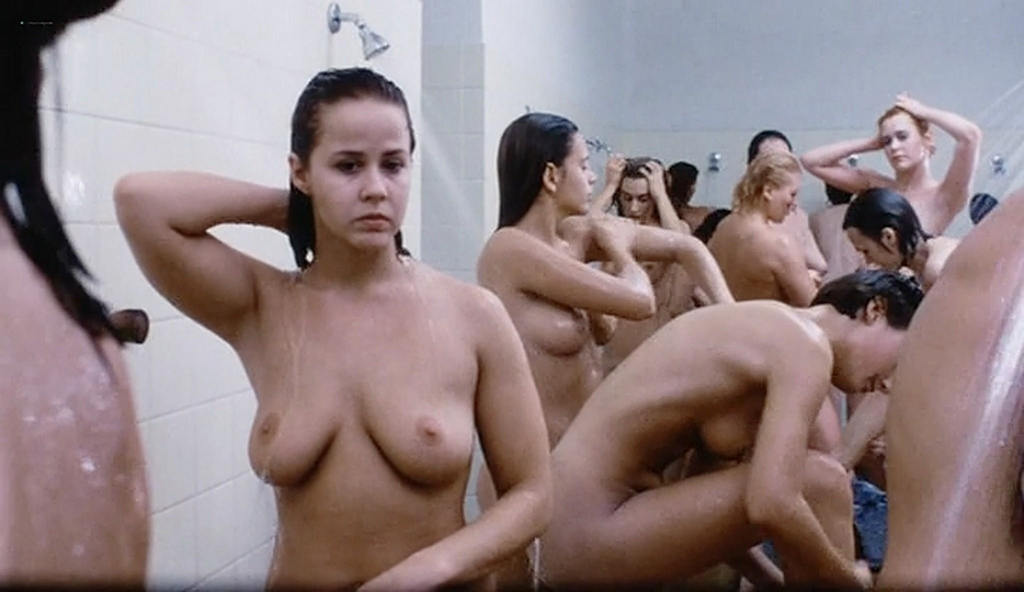 Linda Blair nude sex Sylvia Kristel and others nude too Red Heat 1985 VHSRip 7
