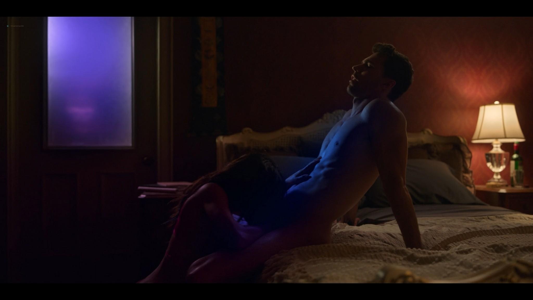 Sarah Shahi nude debut lot of hot sex Sex Life 2021 s1e1 1080p Web 3