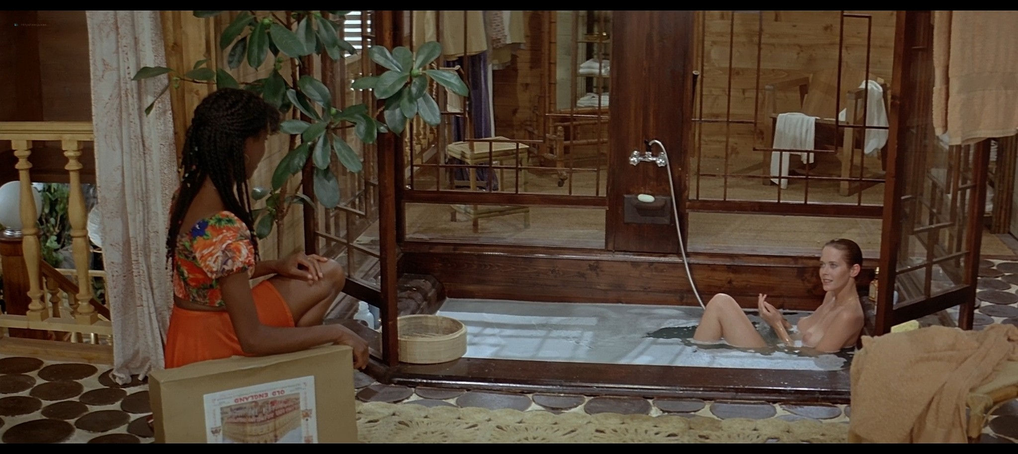 Sylvia Kristel nude full frontal Charlotte Alexandra and others nude sex Good bye Emmanuelle 1977 1080p BluRay