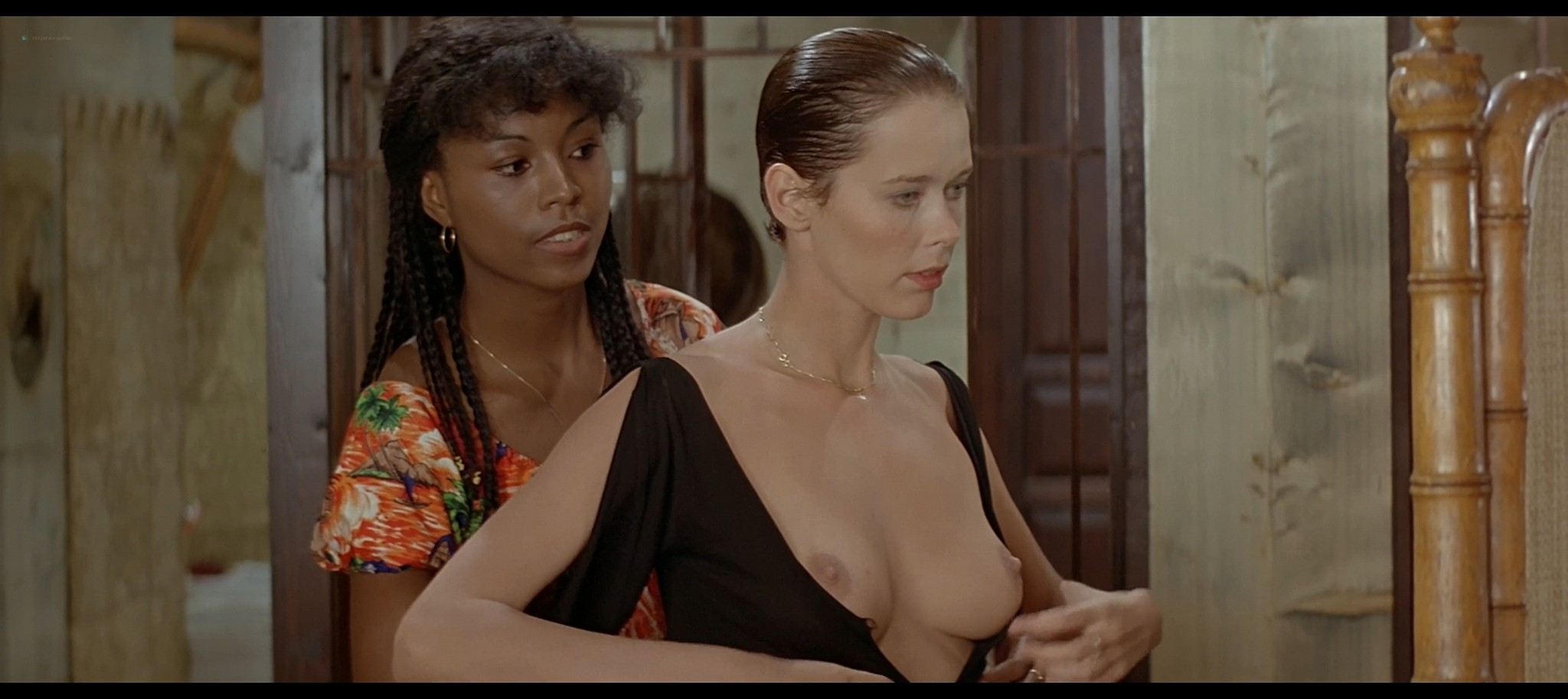 Sylvia Kristel nude full frontal Charlotte Alexandra and others nude sex Good bye Emmanuelle 1977 1080p BluRay 3