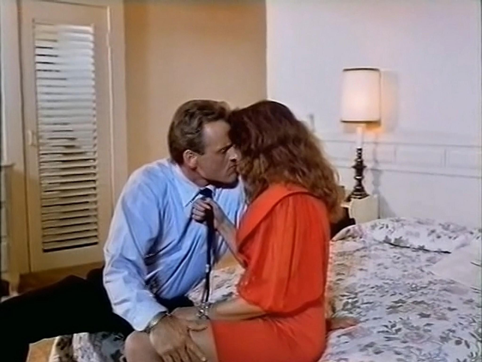 Tracy Scoggins nude in the shower The Gumshoe Kid 1990 DVDRip 4