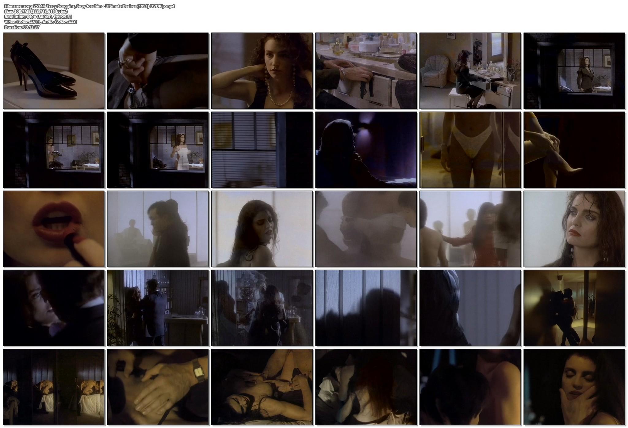 Tracy Scoggins nude sex Suzy Joachim sexy Ultimate Desires 1991 DVDRip 17