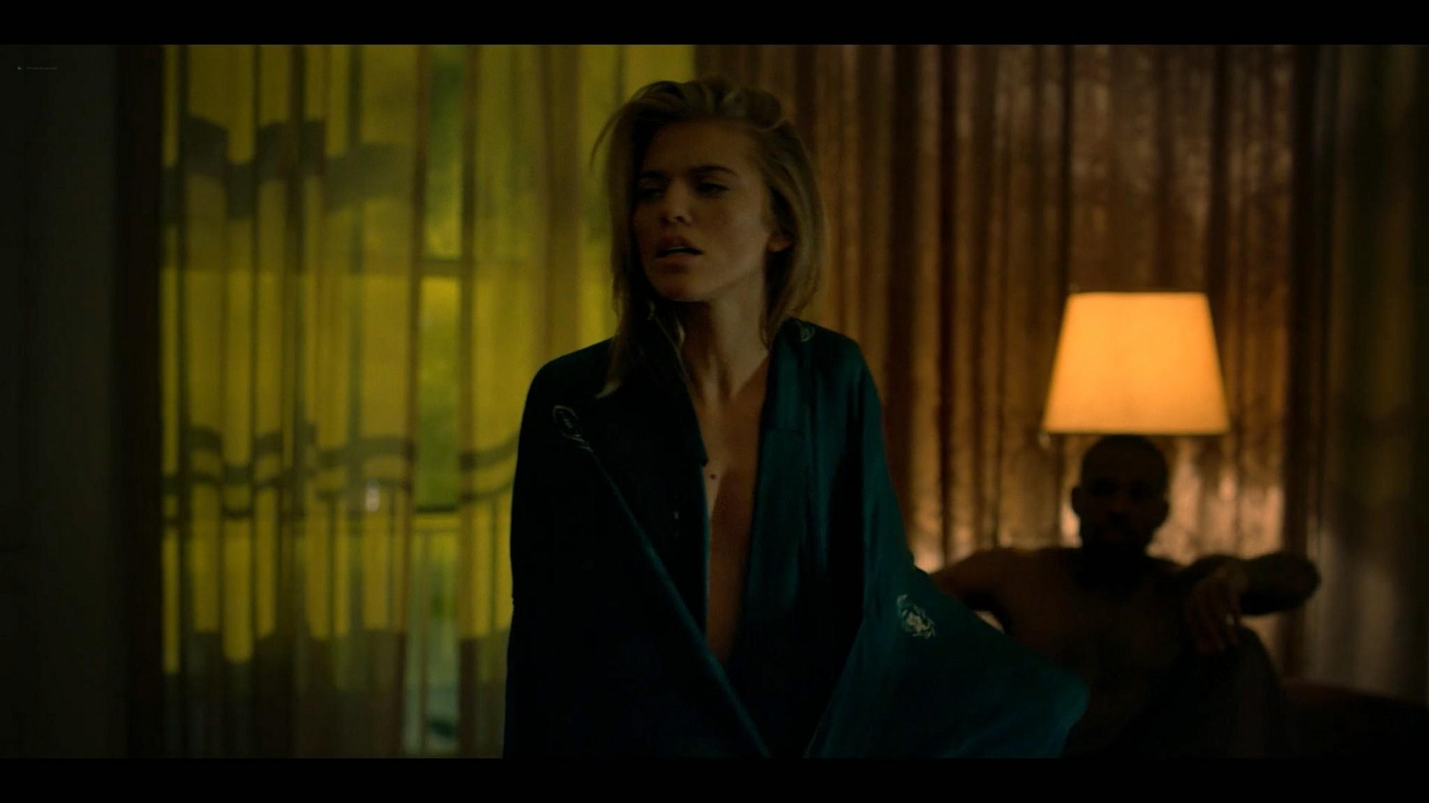 Annalynne McCord nude topless and sex Power Book III Raising Kanan 2021 s1e1 1080p Web 10