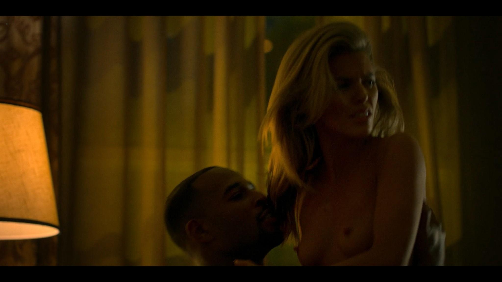 Annalynne McCord nude topless and sex Power Book III Raising Kanan 2021 s1e1 1080p Web 4