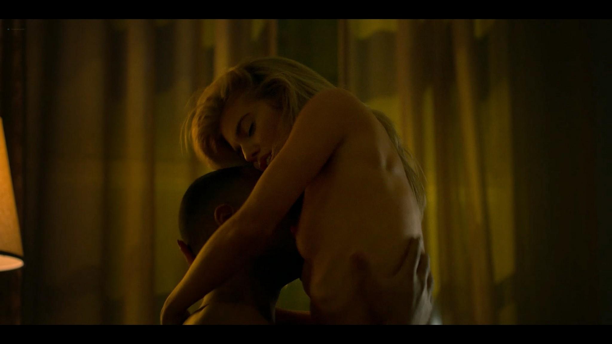 Annalynne McCord nude topless and sex Power Book III Raising Kanan 2021 s1e1 1080p Web 6