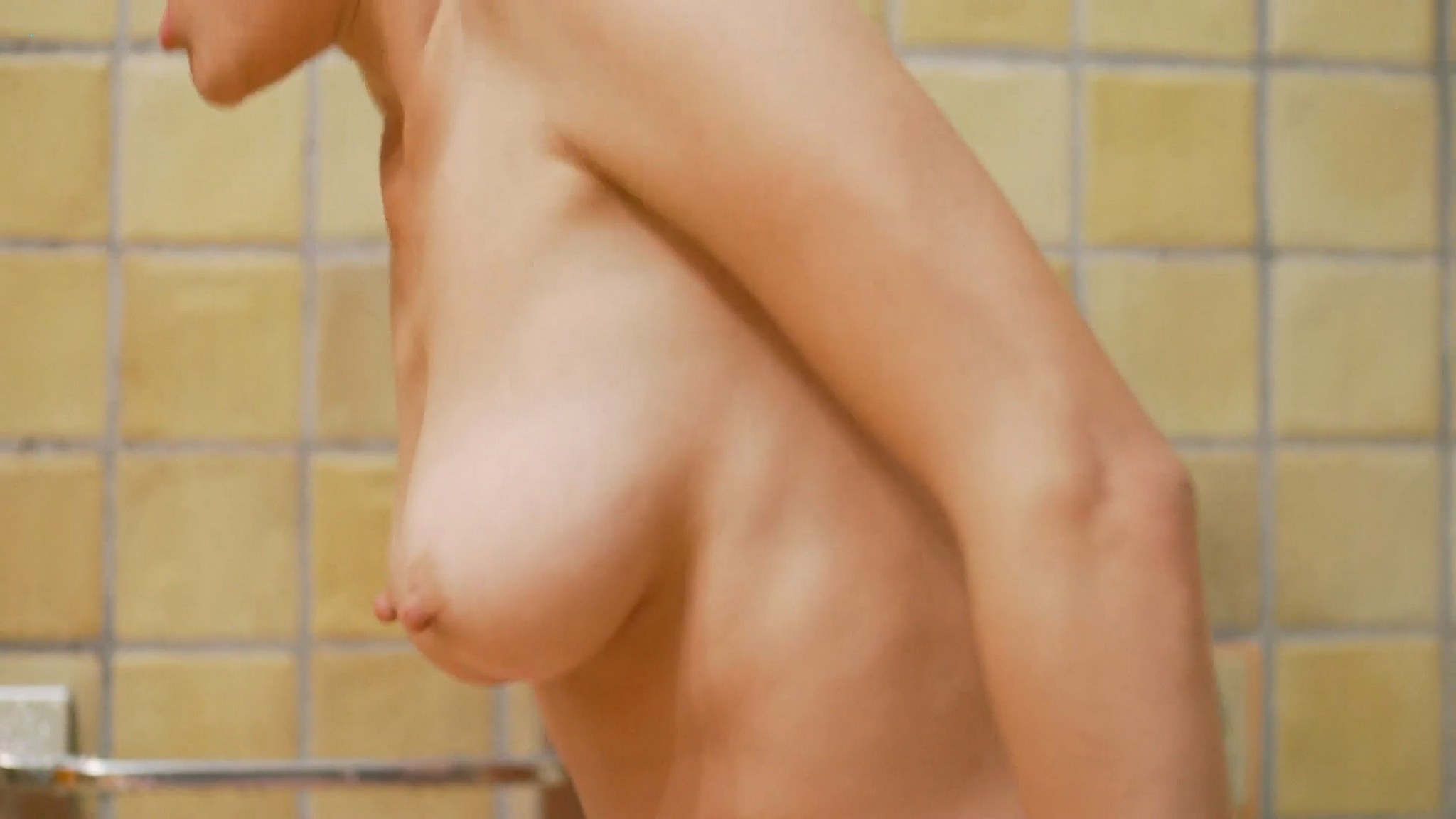 Carole Le Page nude full frontal Sophie Letourneur Lolita Chammah nude too Les coquillettes FR 2012 1080p Web 8