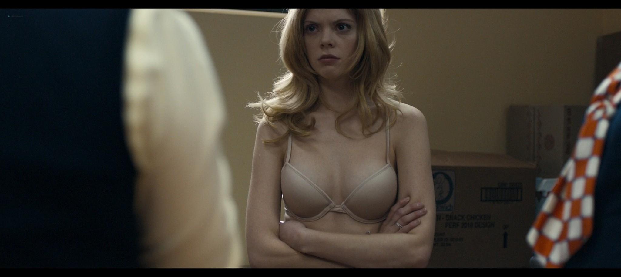 Dreama Walker nude topless Compliance 2012 HD 1080p BluRay REMUX