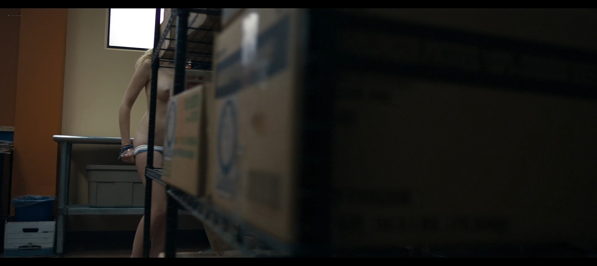 Dreama Walker nude topless Compliance 2012 HD 1080p BluRay REMUX 7