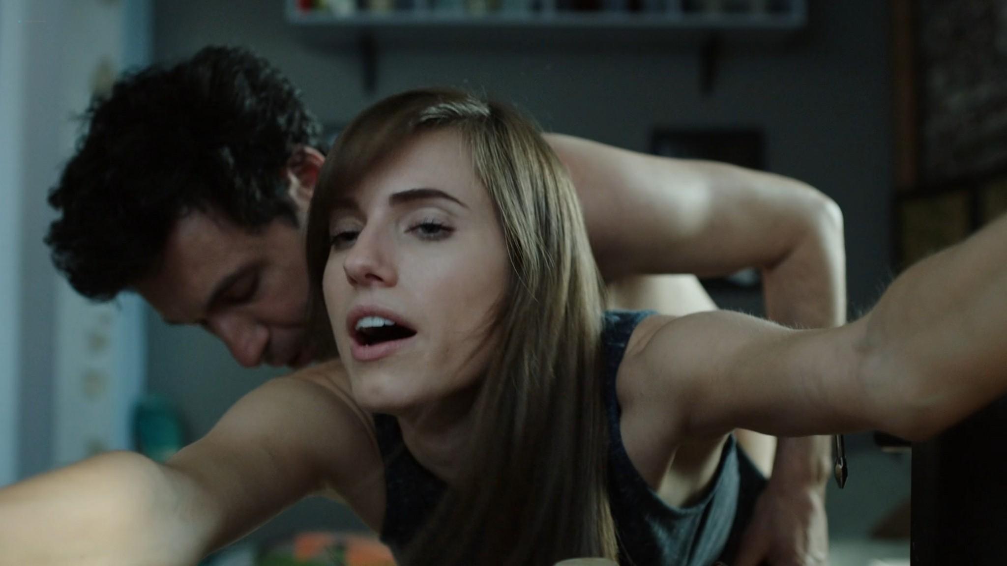 Jemima Kirke nude full frontal Lena Dunham Daisy Eagan nude Allison Williams sexy Girls 2012 s6e1 4 1080p Web 14