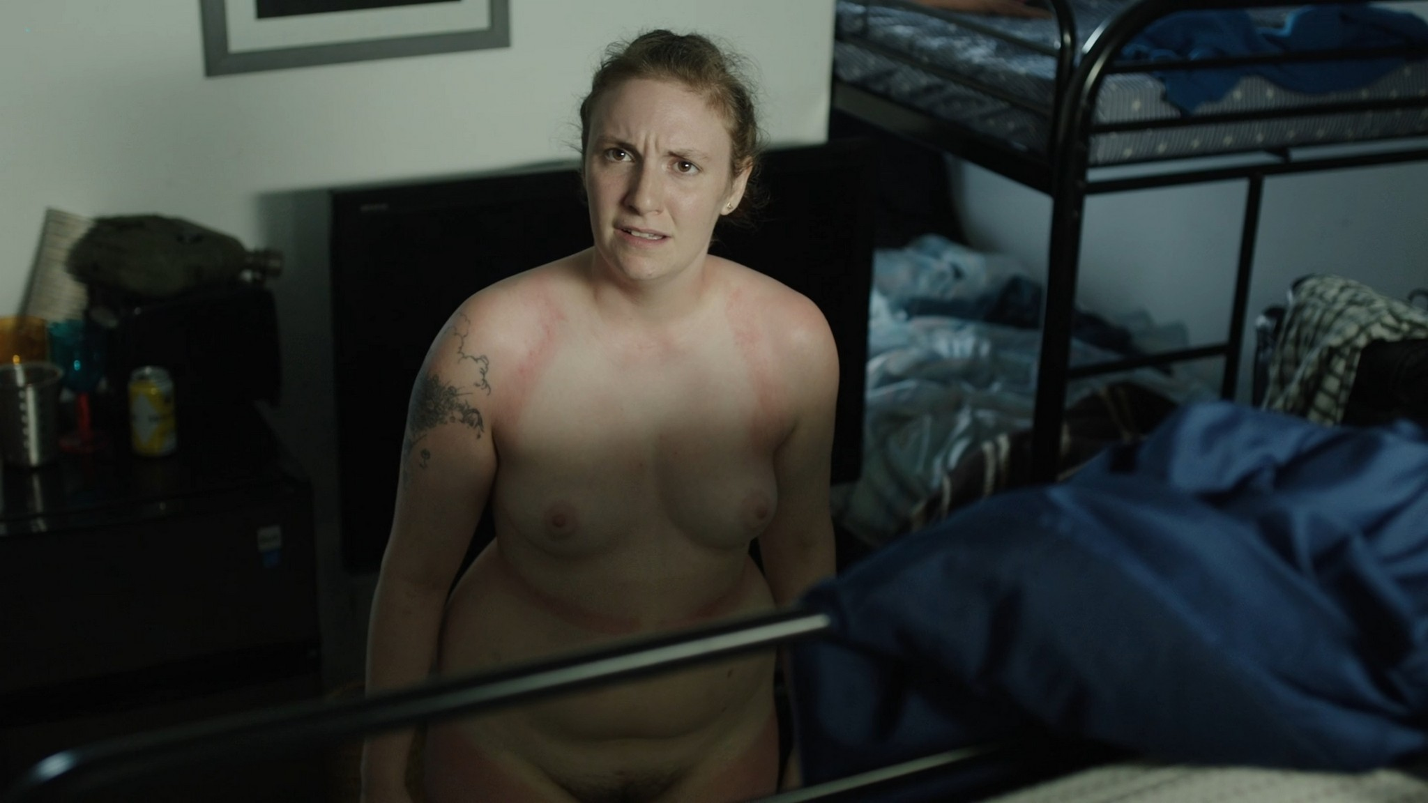 Jemima Kirke nude full frontal Lena Dunham Daisy Eagan nude Allison Williams sexy Girls 2012 s6e1 4 1080p Web 9