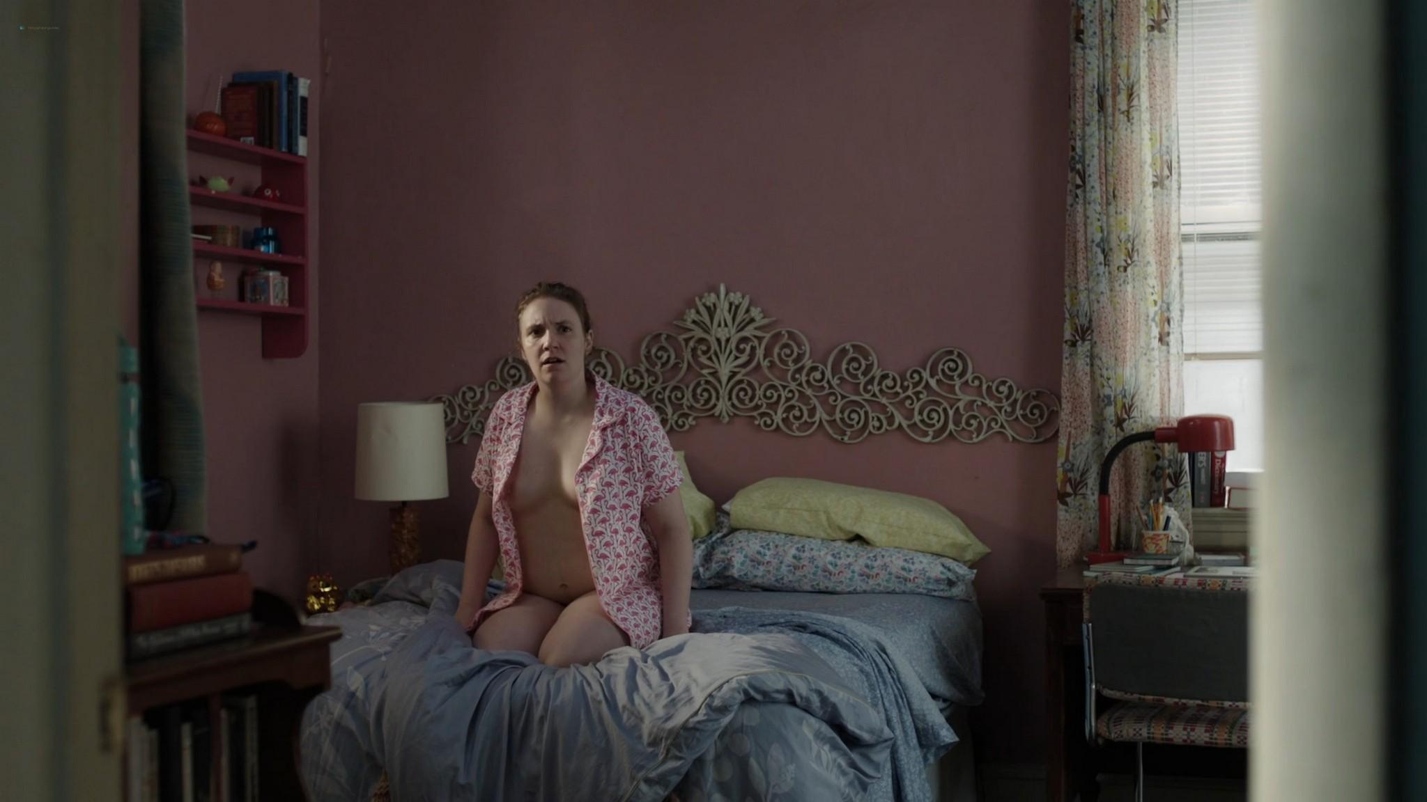 Lena Dunham nude bush Jemima Kirke nude Allison Williams sexy Girls 2012 s6e5 10 1080p Web 10