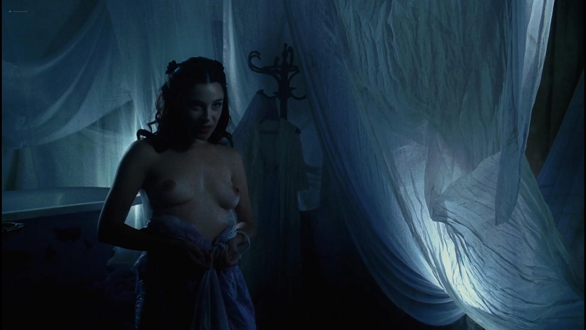 Serena Scott Thomas nude sex Sarah Lassez and others nude too Brothel 2008 1080p Web 19