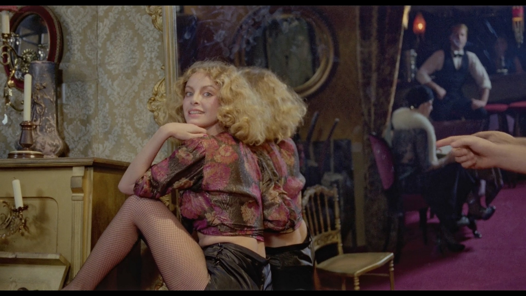 Sydne Rome hot see through and sexy Just a Gigolo 1978 1080p BluRay 5