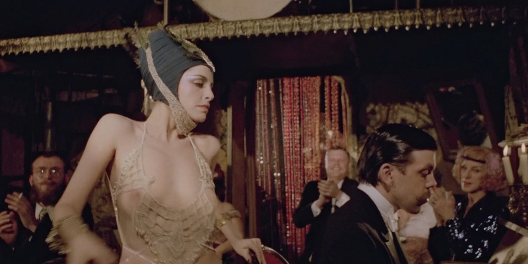 Sydne Rome hot see through and sexy Just a Gigolo 1978 1080p BluRay 7