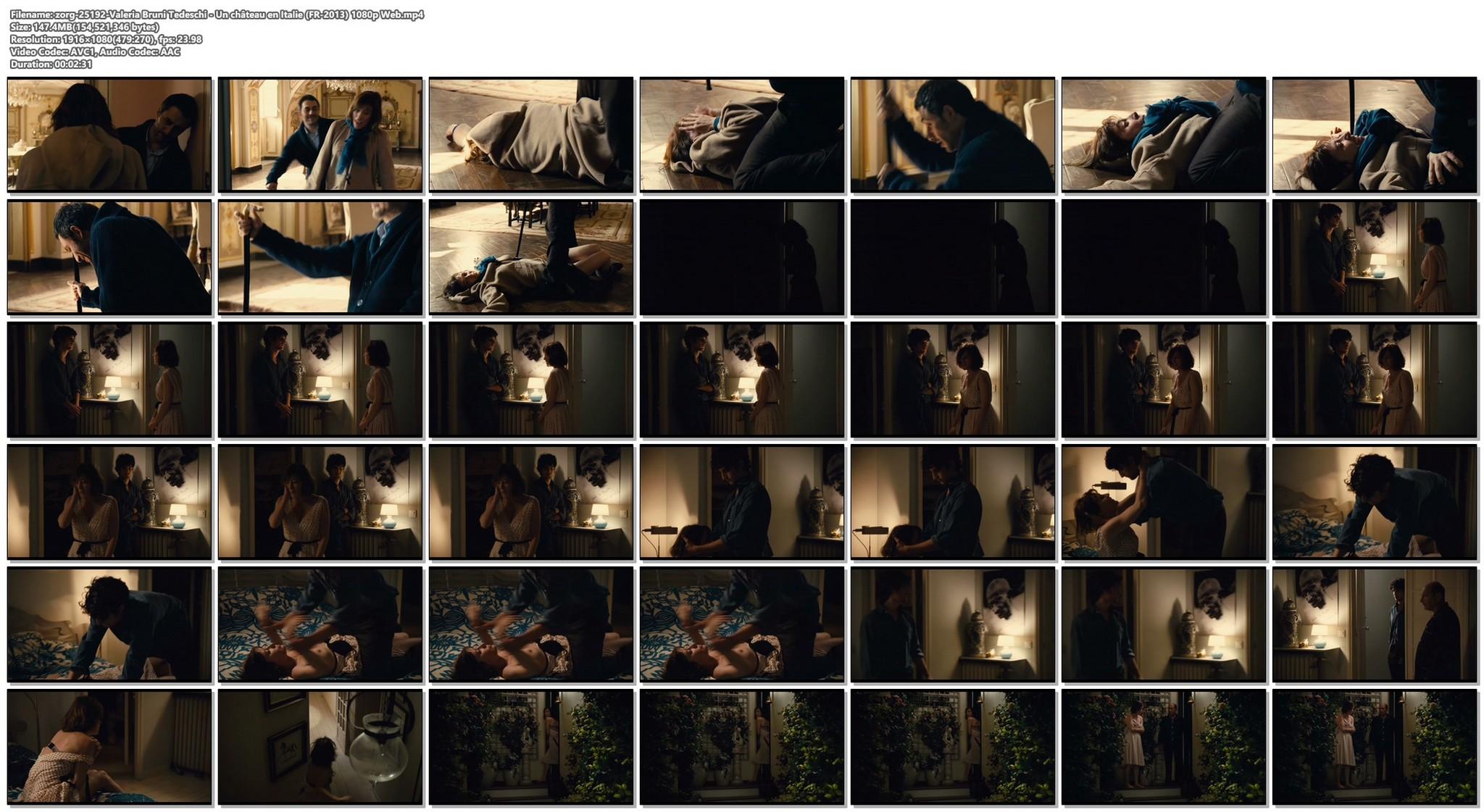 Valeria Bruni Tedeschi nude topless Un chateau en Italie FR 2013 1080p Web 11