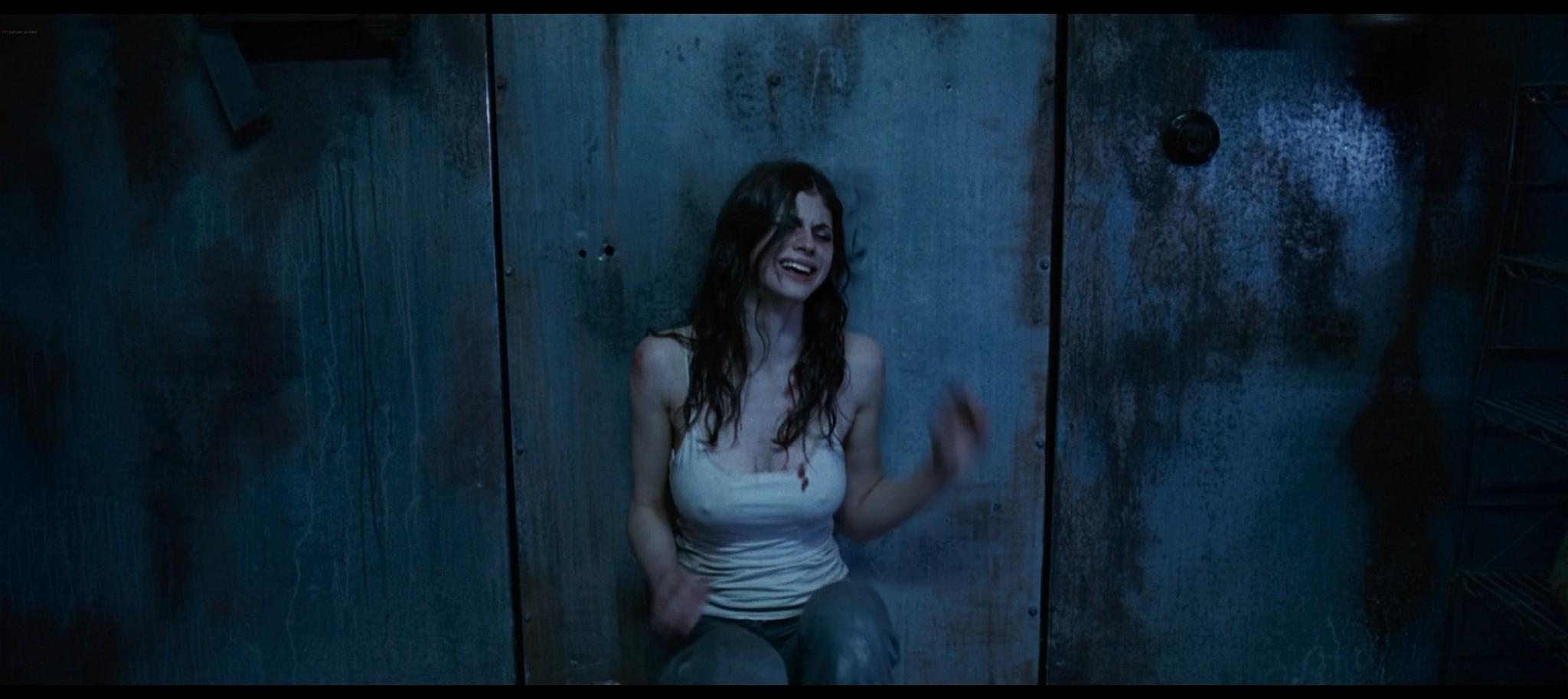 Alexandra Daddario hot sexy and see through from Bereavement 2010 HD 1080p BluRay 14