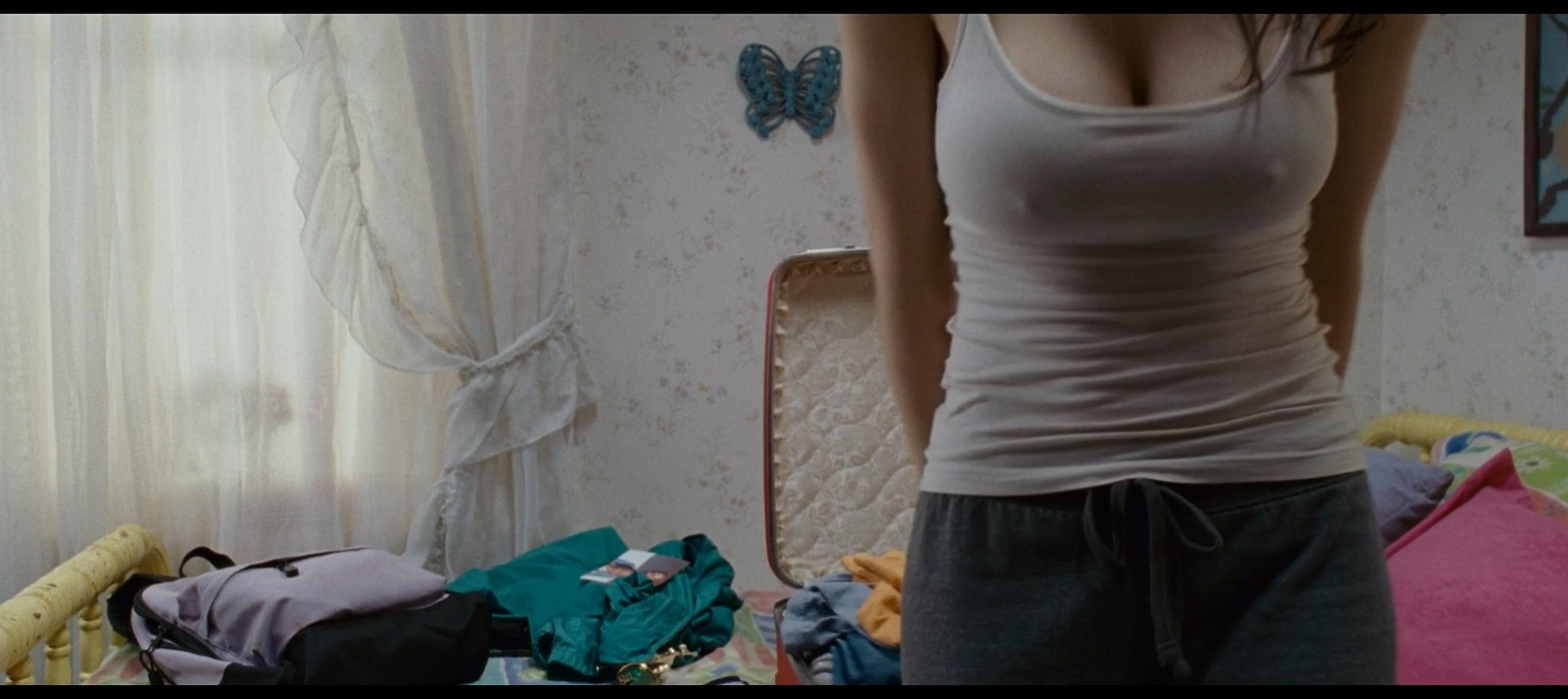 Alexandra Daddario hot sexy and see through from Bereavement 2010 HD 1080p BluRay 4