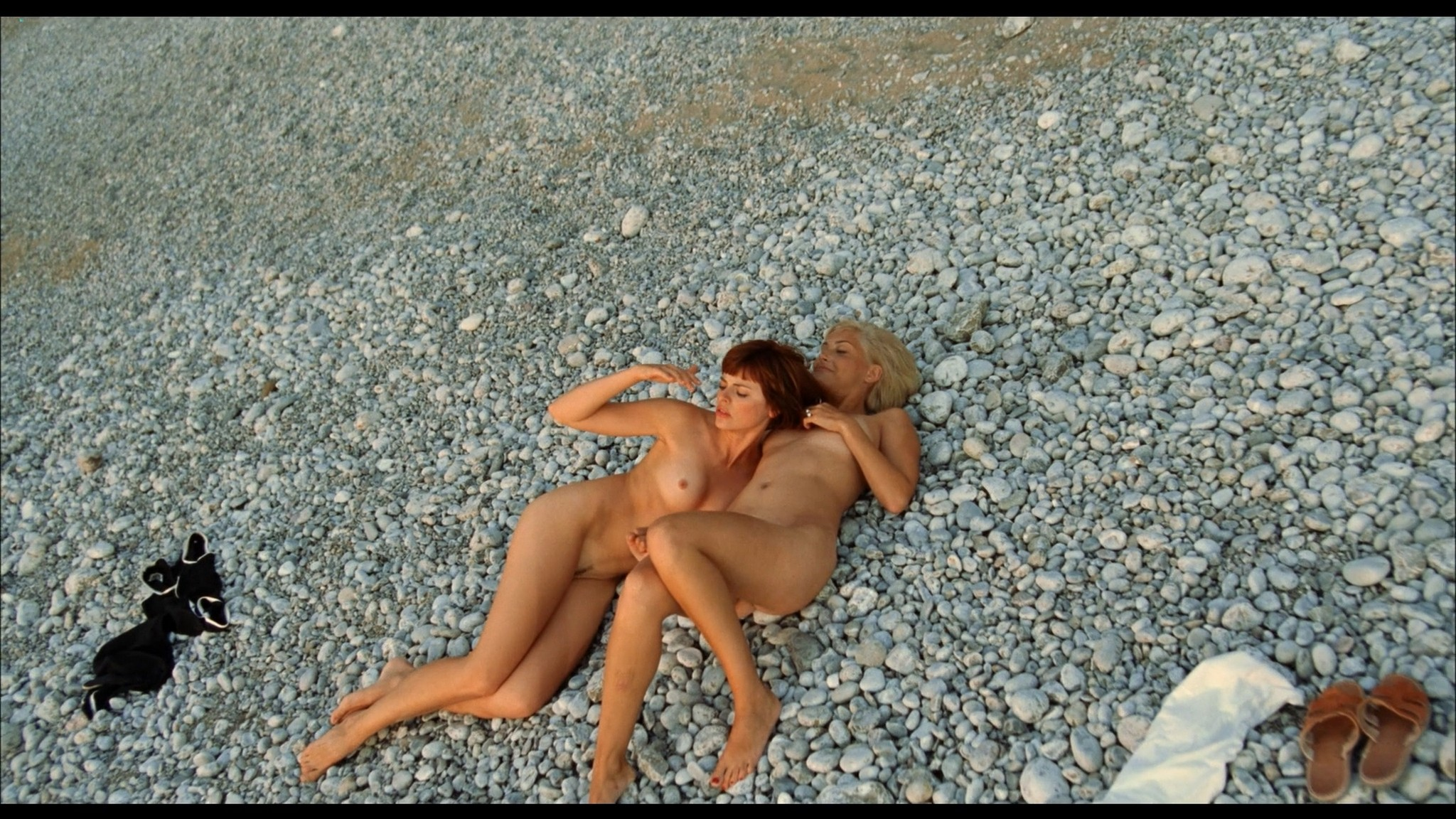 Avalon Barrie nude and Lyudmila Shiryaeva nude full frontal Sappho 2008 HD 1080p BluRay REMUX 19