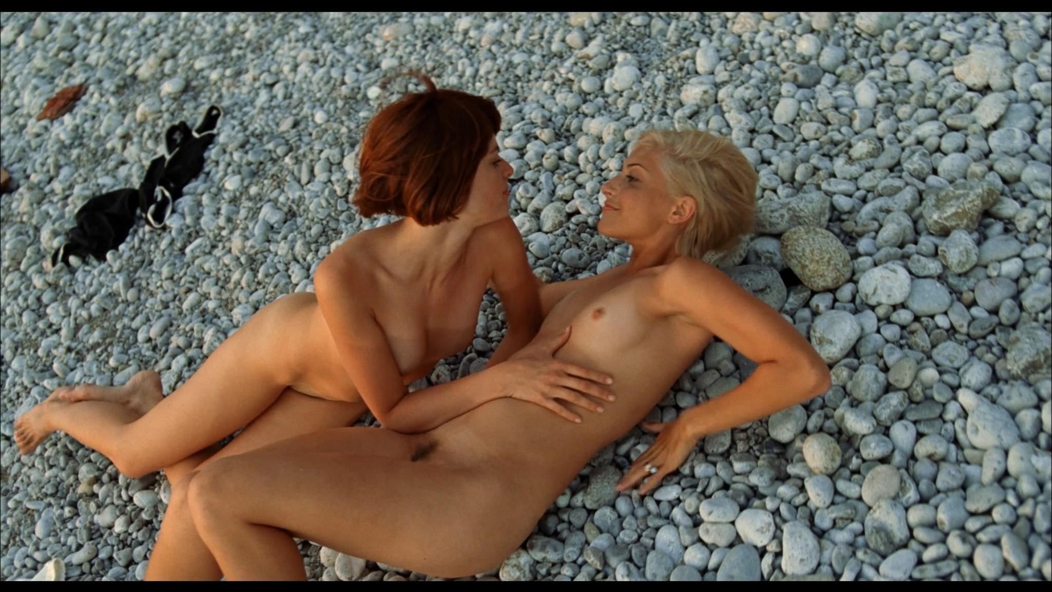 Avalon Barrie nude and Lyudmila Shiryaeva nude full frontal Sappho 2008 HD 1080p BluRay REMUX 20