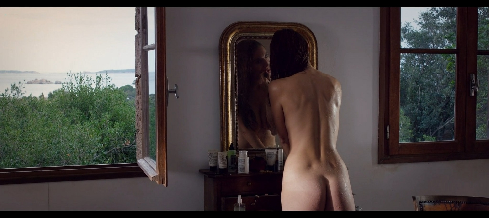 Caterina Murino nude bush butt and some sex Her Secret Life FR 2017 1080p Web 11
