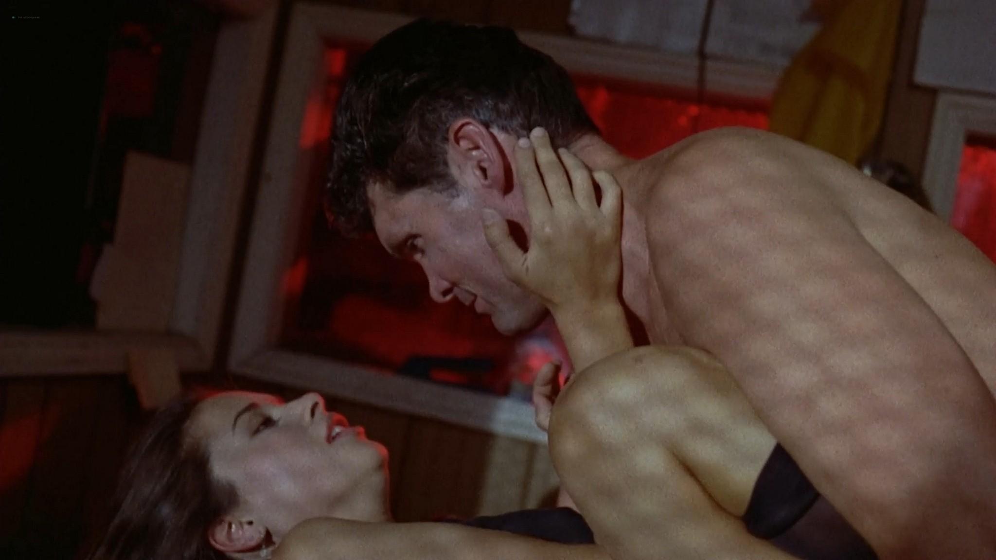 Katherine Barrese nude bush topless and hot sex Jezebels Kiss 1990 1080p Web 2