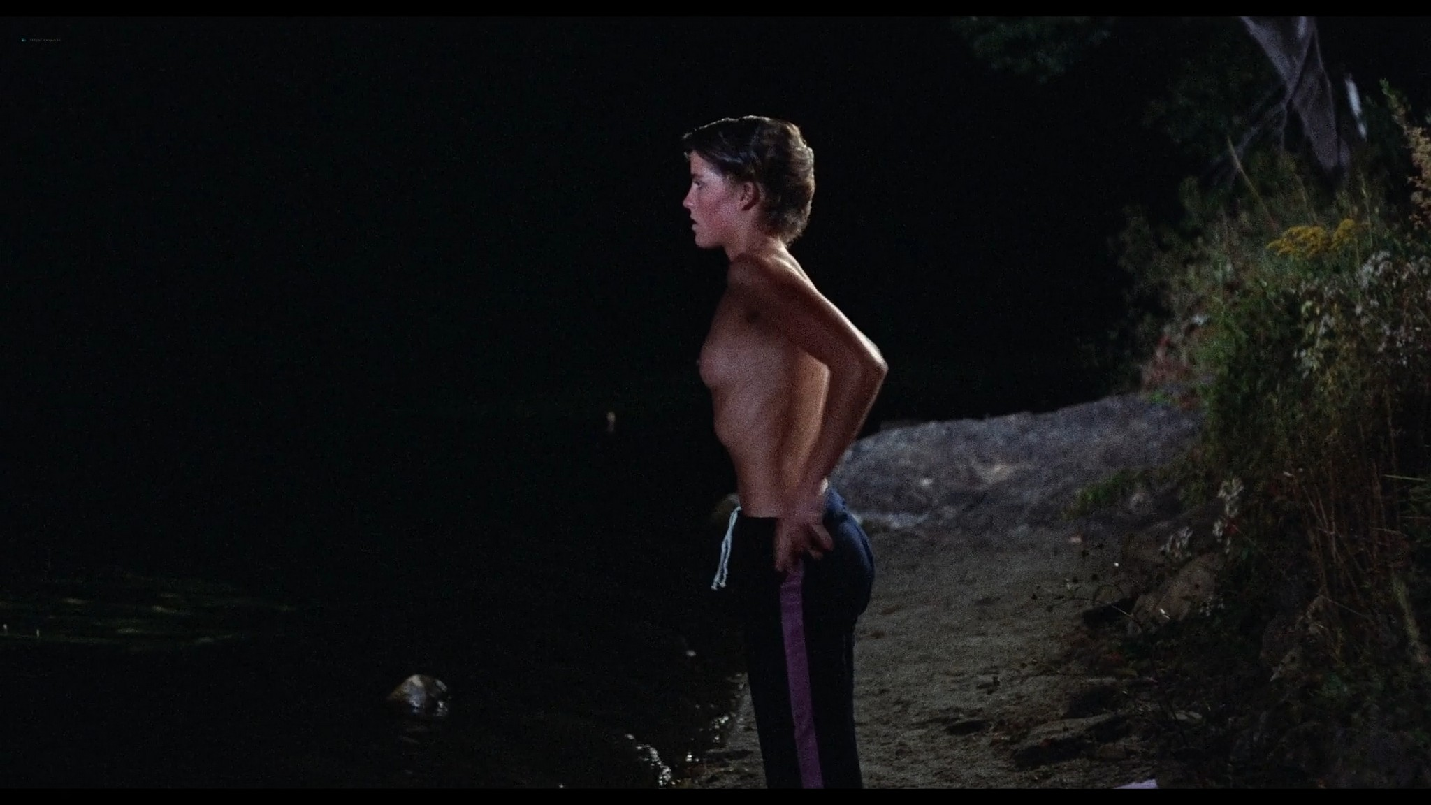 Kirsten Baker nude full frontal Amy Steel and others sexy Friday the 13th Part 2 1981 1080p BluRay 7