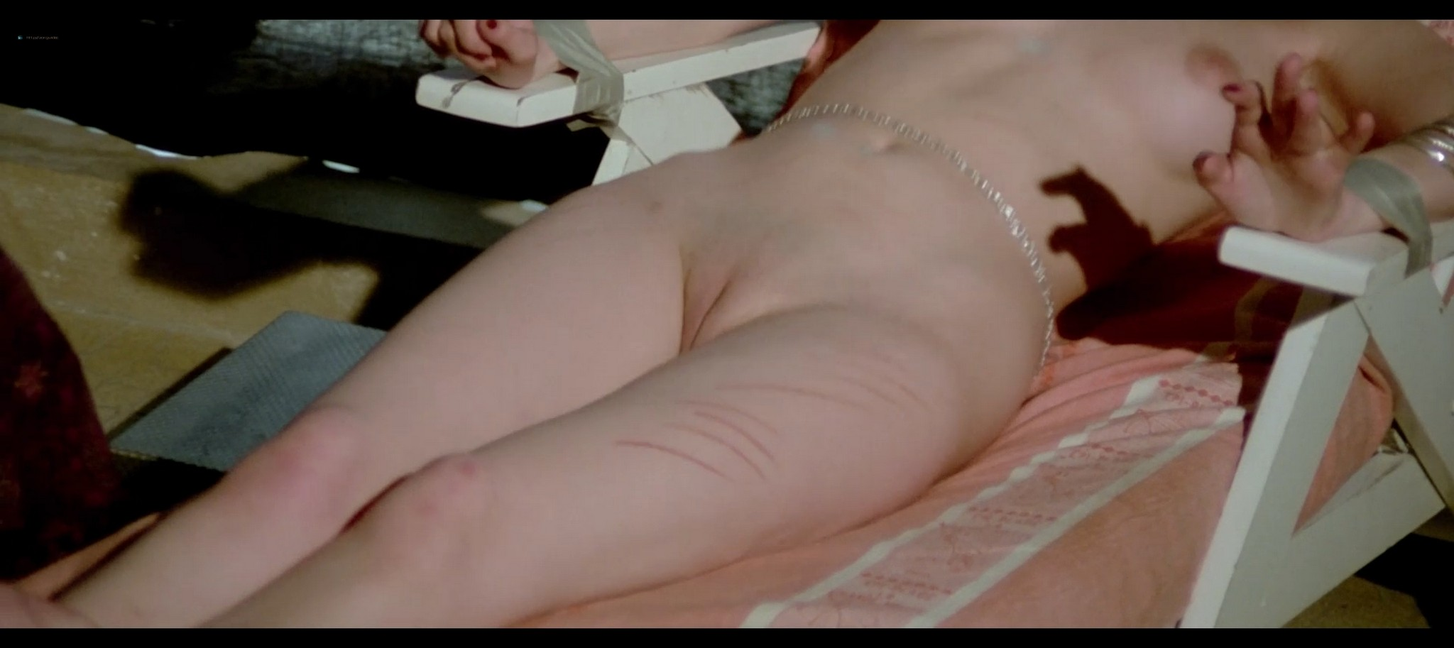 Lina Romay nude explicit and sex Evelyne Scott Monica Swinn nude full frontal Shining Sex 1976 1080p BluRay 13