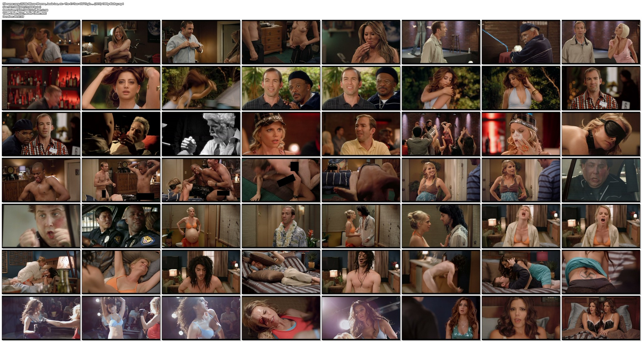 Mircea Monroe sexy Jessie Lee nude others nude and sexy The 41 Year Old Virgin 2010 1080p BluRay 22