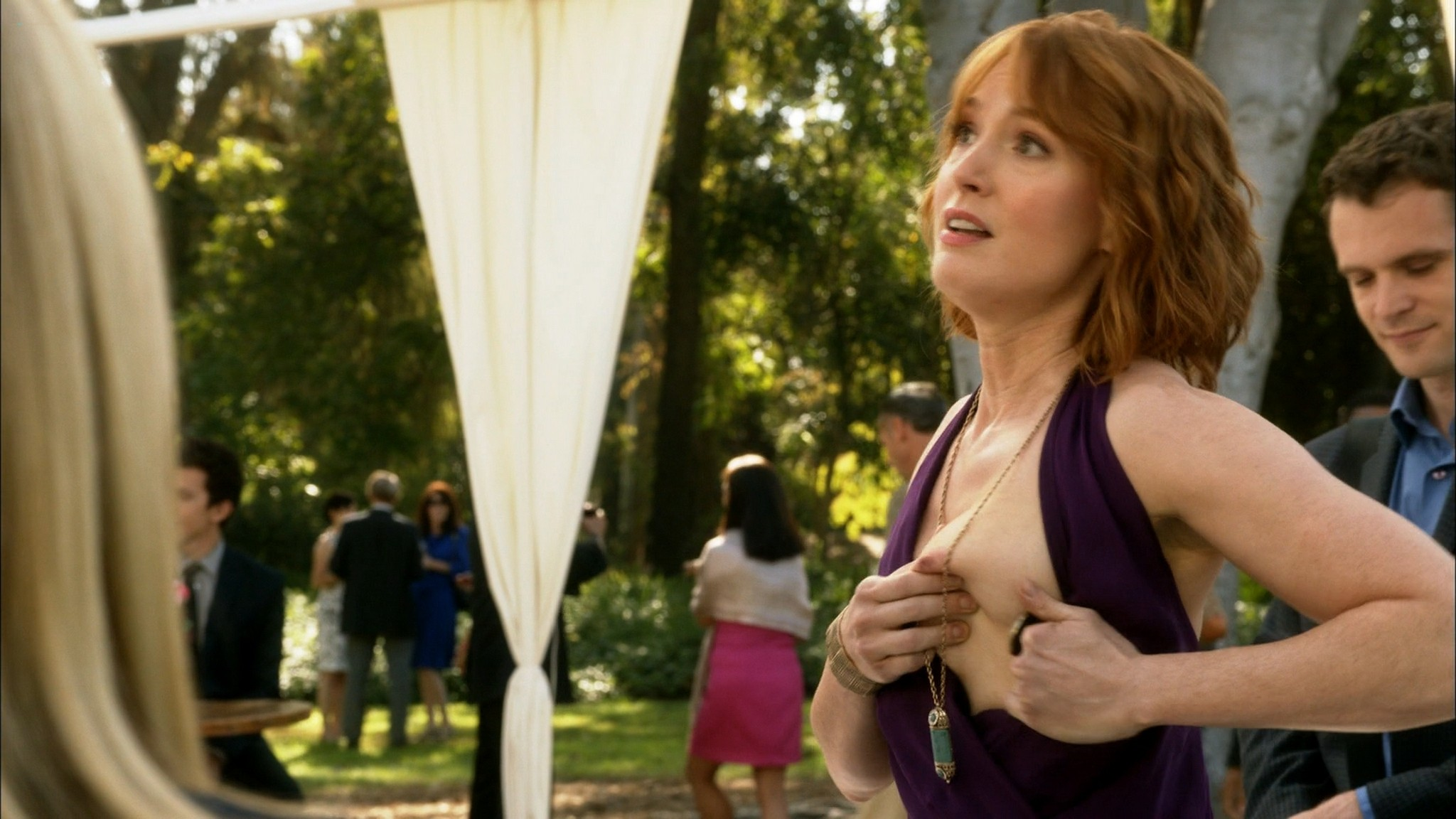 Alicia Witt topless Kristen Bell Valorie Curry and other sex and hot House of Lies 2015 S4 1080p Web 13