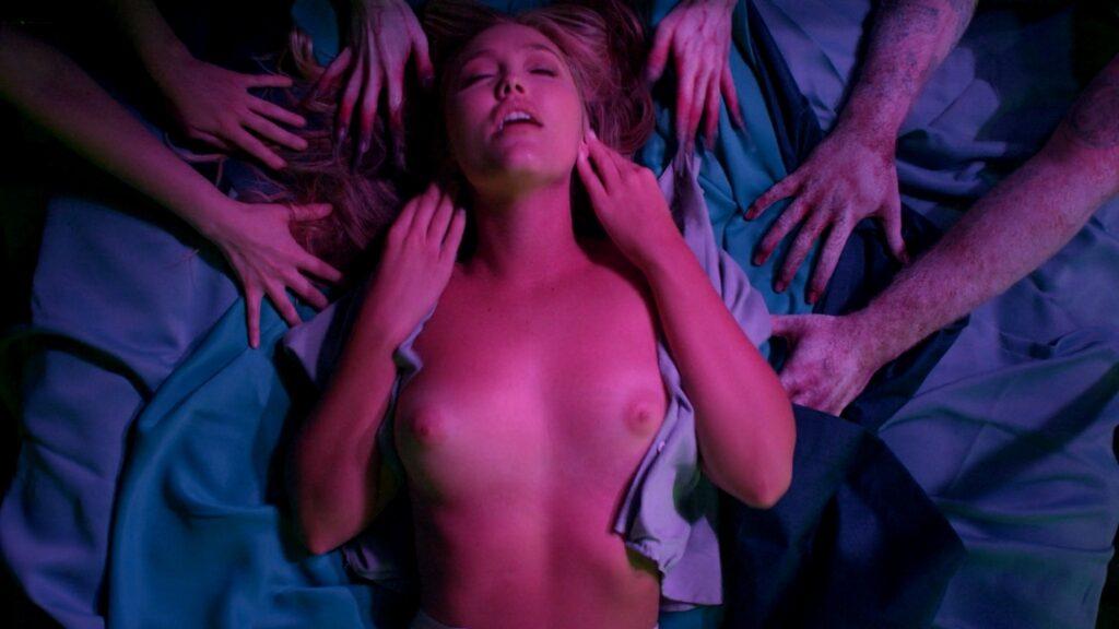 Amanda Jones nude Christina Helene Braa Hannah Hueston sexy and nude The Resonator Miskatonic U 2021 1080p Web 16