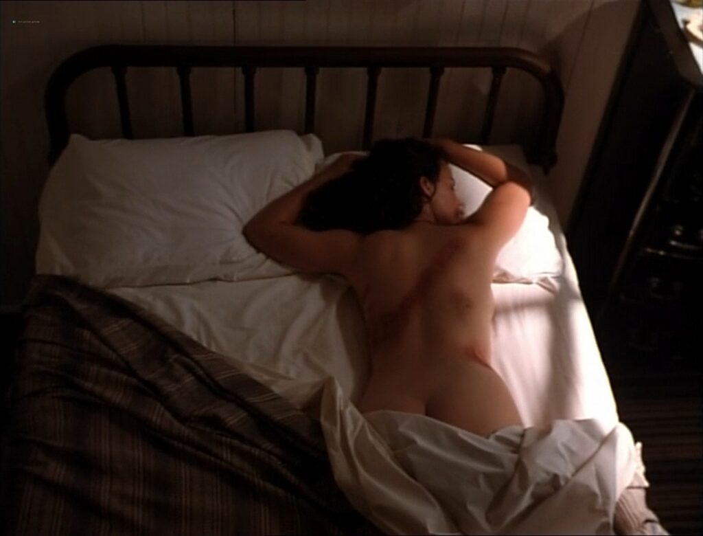 Carla Gugino nude topless butt Anna Levine and Rya Kihlstedt all nude Jaded 1998 5