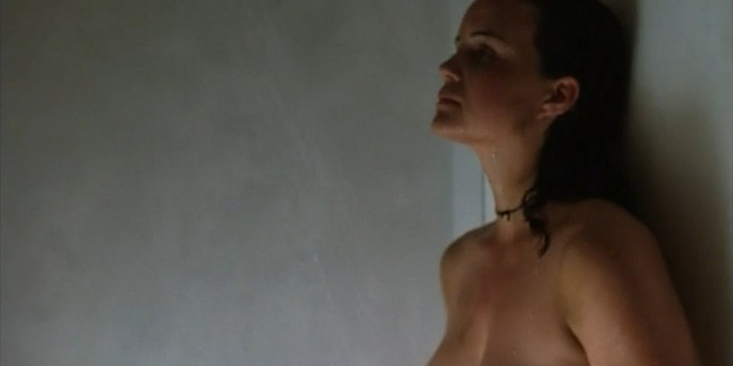 Carla Gugino nude topless butt Anna Levine and Rya Kihlstedt all nude Jaded 1998 8