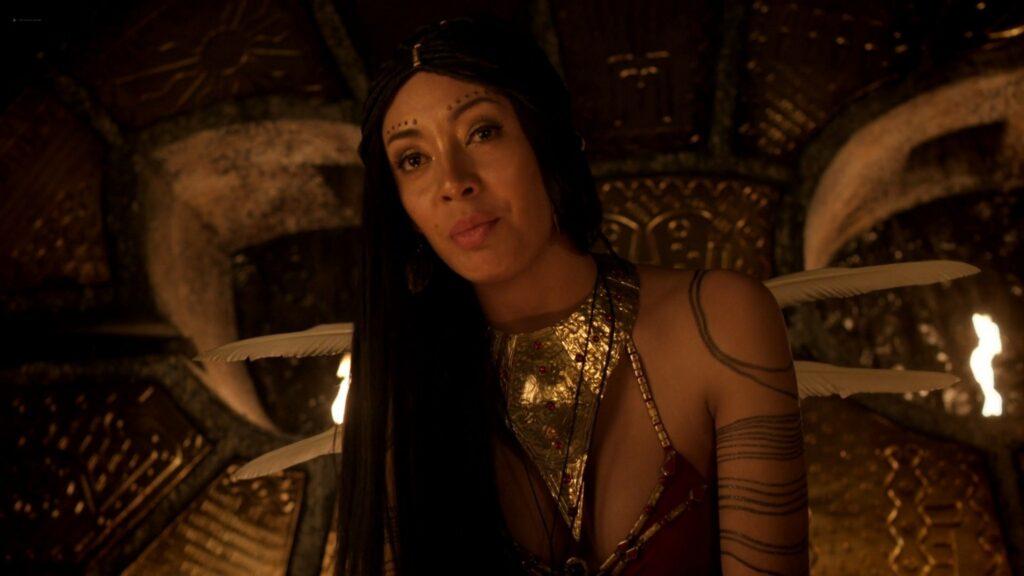 Carolina Guerra nude full frontal Da Vincis Demons 2014 S2 1080p BluRay