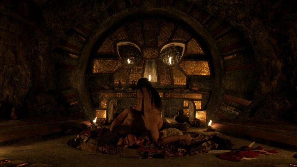 Carolina Guerra nude full frontal Da Vincis Demons 2014 S2 1080p BluRay 10