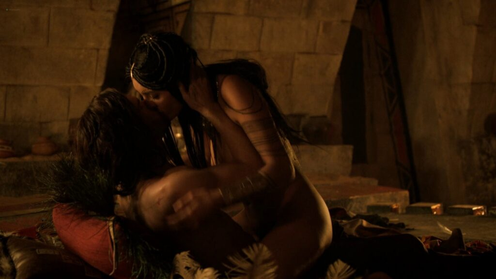 Carolina Guerra nude full frontal Da Vincis Demons 2014 S2 1080p BluRay 12