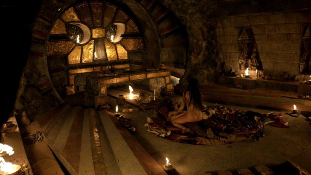 Carolina Guerra nude full frontal Da Vincis Demons 2014 S2 1080p BluRay 13