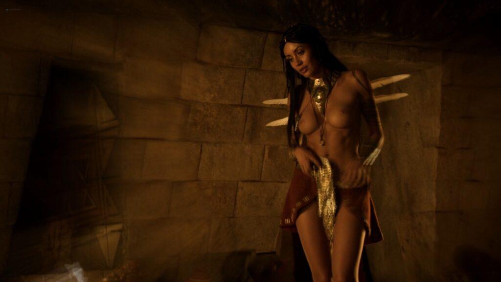 Carolina Guerra nude full frontal Da Vincis Demons 2014 S2 1080p BluRay 4