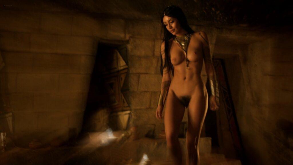 Carolina Guerra nude full frontal Da Vincis Demons 2014 S2 1080p BluRay 9