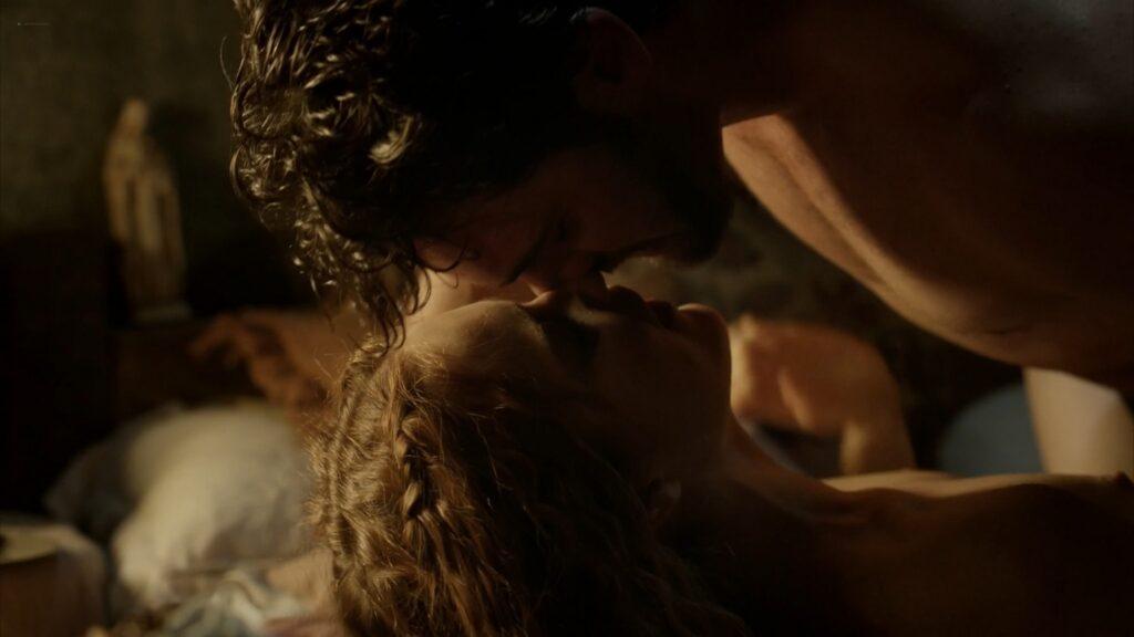 Hera Hilmar nude sex Sarah Ball nude Da Vincis Demons 2013 S1 1080p BluRay 16