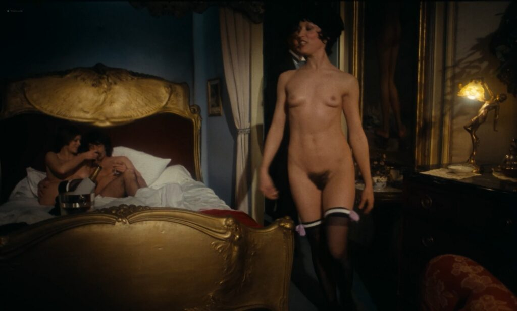 Jacqueline Kerry nude full frontal and sex Eva Quang and others nude Le jardin des supplices 1976 1080p BluRay