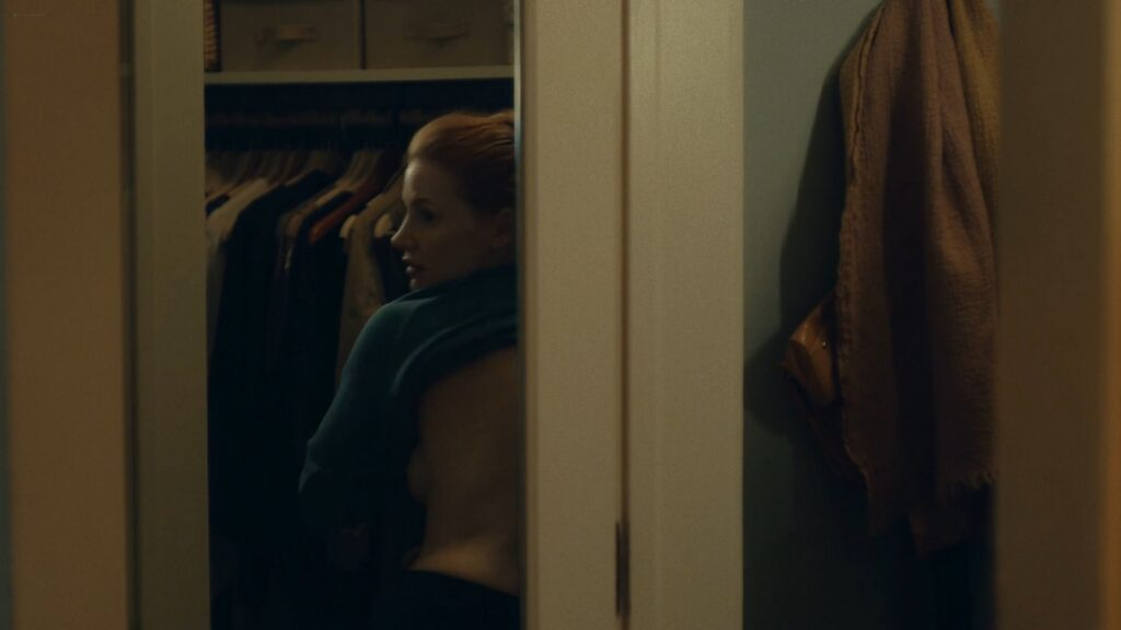 Jessica Chastain nude butt bush and side boob in the shower Scenes From a Marriage 2021 s1e2 1080p WEB 2